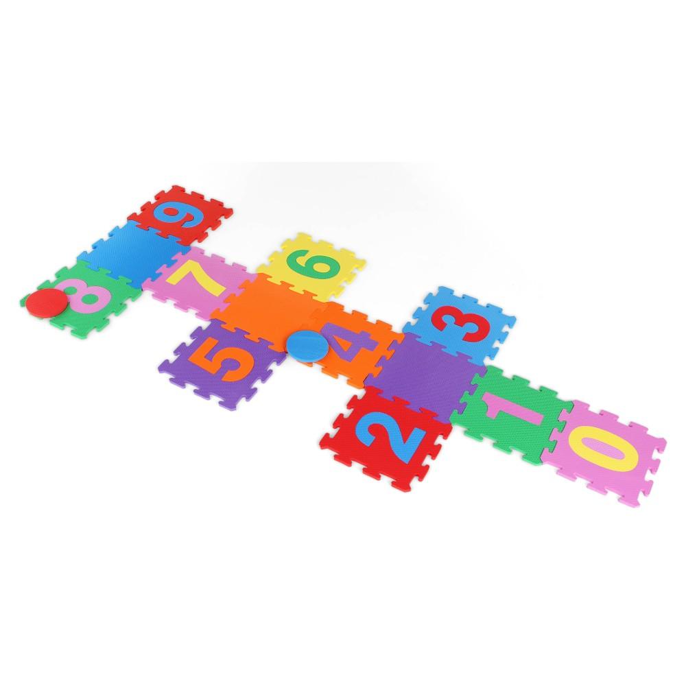 Tapete Pedagógico Amarelinha Pequeno  - Alegria Brinquedos