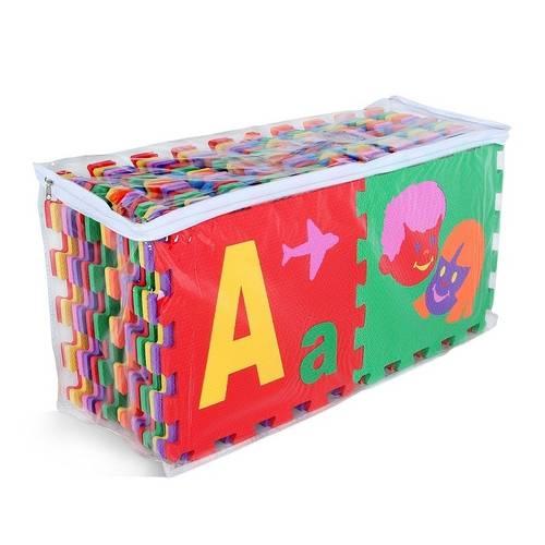 Tapete Pedagogico Super Alfabeto C/ Borda  - Alegria Brinquedos