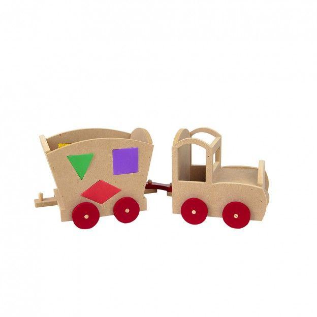 Trenzinho Educativo  - Alegria Brinquedos