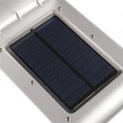 Luminária Solar de Parede 16 Led c/ Sensor De Movimentos