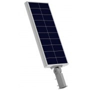 Luminária Solar Pública 30W All in One EIM Economy para Postes 3 a 4 mt
