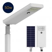 Luminária Solar Pública 50W All in One EIM Economy para Postes 5 a 6 mt
