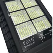 Luminária Solar Pública Foyu 120W All in One para Postes 5 a 6 mt