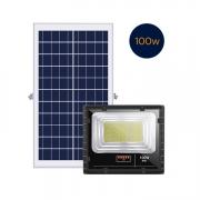 Refletor Solar 100W com Controle Remoto