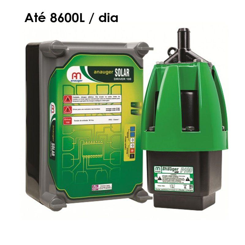 Bomba Solar Anauger P100 - Até 8.600 L / dia