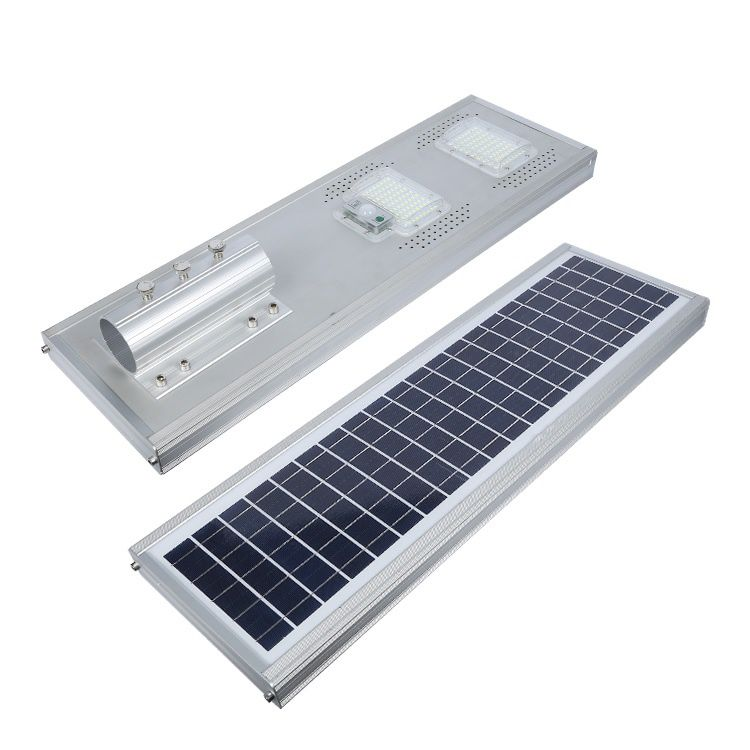 Luminária Solar Pública 100W All in One para Postes 4 a 5 mt