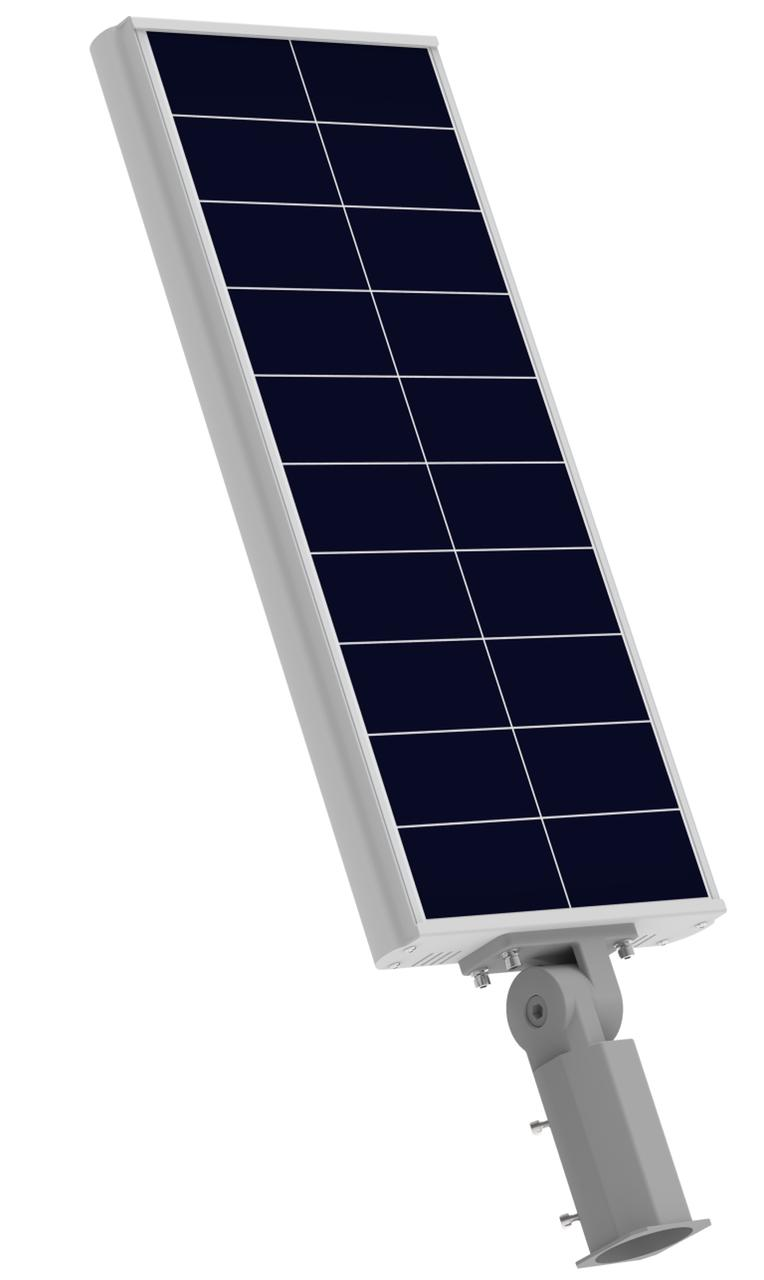 Luminária Solar Pública 40W All in One EIM Economy para Postes 4 a 5 mt