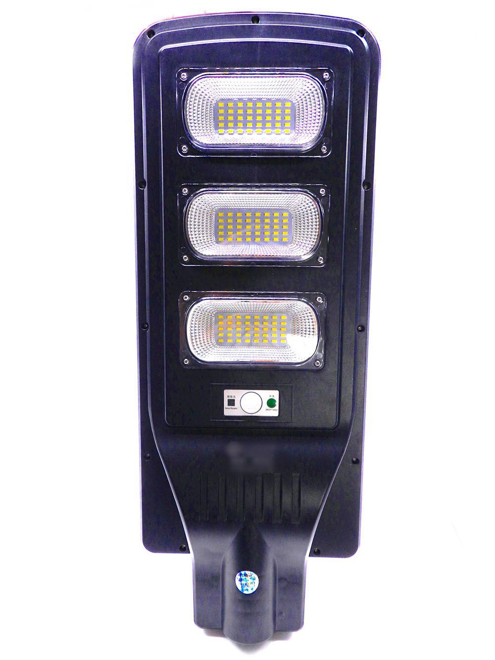 Luminária Solar Pública 60W All in One para Postes 4 a 6 mt