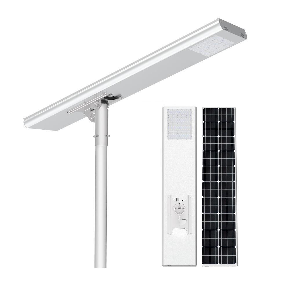 Luminária Solar Pública Eiffel Integrada 120W para Postes 10 a 12 mt
