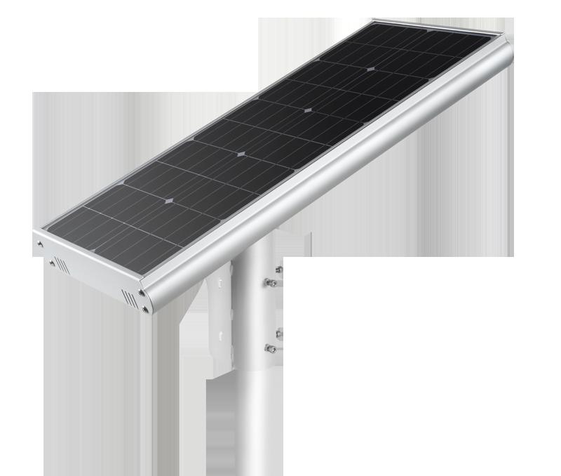 Luminária Solar Pública Eiffel Integrada 30W para Postes 4 a 5 mt
