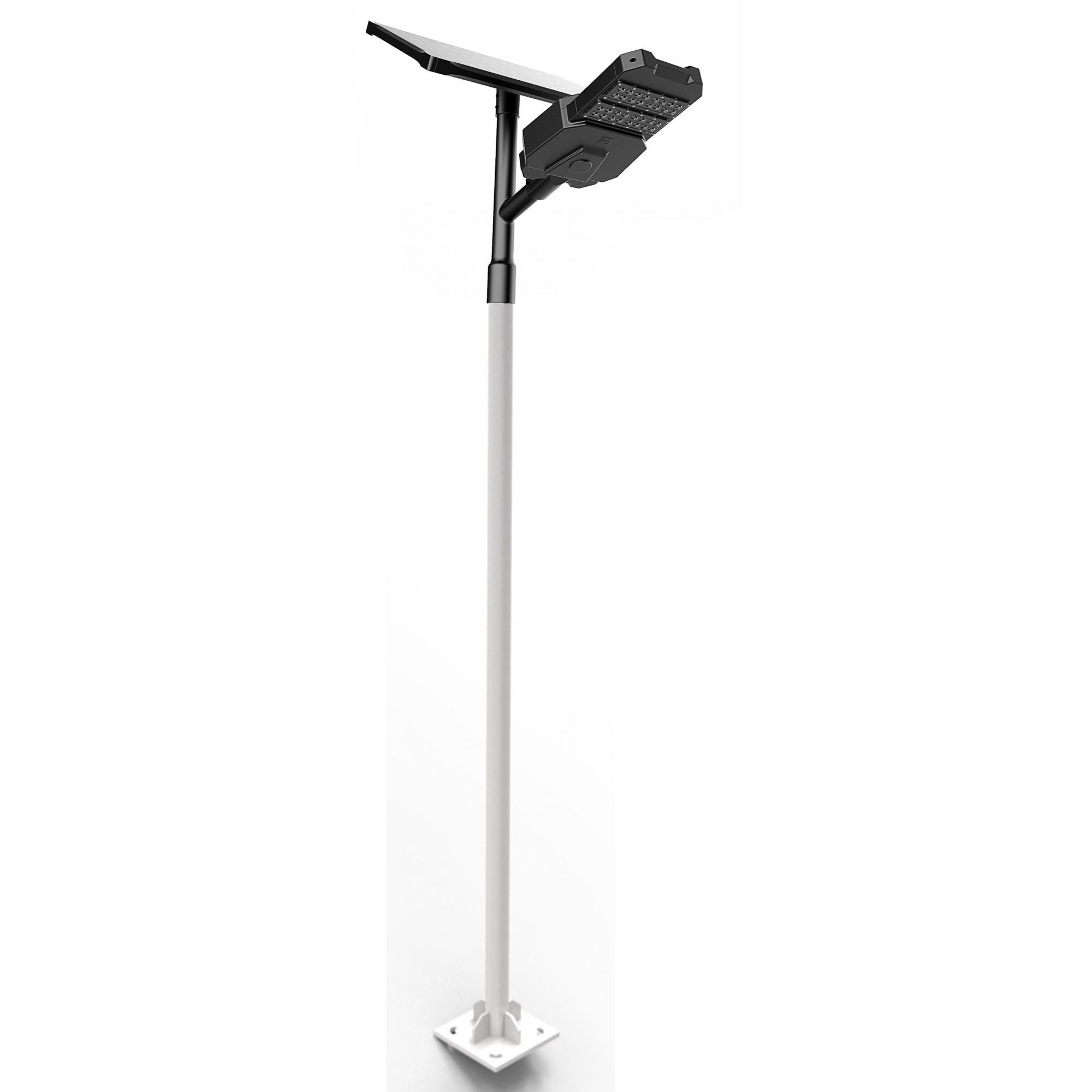 Luminária Solar Pública Solar X All-in-Two 60W para Postes 8 a 9 mt