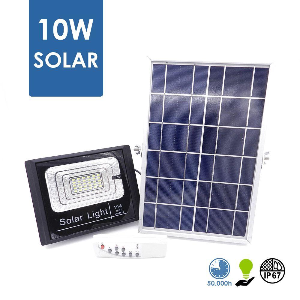 Refletor Solar 10W com Controle Remoto