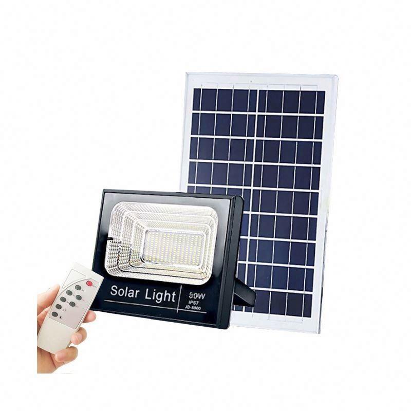 Refletor Solar 50W com Controle Remoto