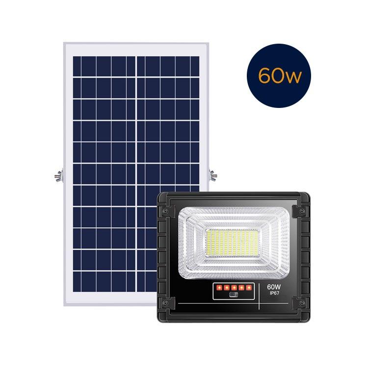 Refletor Solar 60w com Controle Remoto