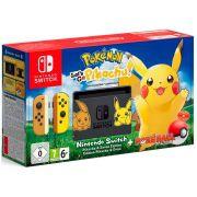 Console Nintendo Switch 32GB Bundle Pokemon Lets Go + Pokeball plus