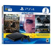 Console PlayStation 4 Slim 1TB Bundle Hits v5 (Days Gone, Detroit Become Human, Tom Clancy´s Rainbow Six)