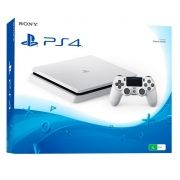 Console Playstation 4 Slim 500GB, Branco - Novo Caixa Branca