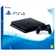 Console Playstation 4 Slim 500GB, Sony, Preto