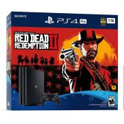Console Sony PlayStation 4 Pro 1TB Com Jogo Red Dead Redemption 2 -