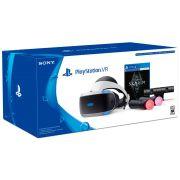 Kit Óculos Playstation 4 VR PS4 + Câmera PS4 + 2 movies + Jogo Skyrim - CUH-ZVR2