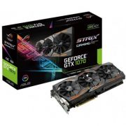 Placa de Video Asus ROG Strix GeForce GTX 1070 8GB GDDR5, PCI-E, DP, DVI-D, HDMI