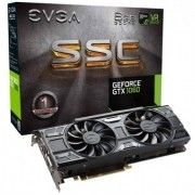 Placa de Vídeo EVGA GeForce GTX 1060 SSC 6GB, GDDR5, PCI-E, DP, DVI-D, HDMI