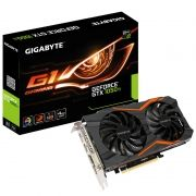 Placa de Vídeo Gigabyte GeForce GTX 1050 Ti 4GB G1 128BIT GDDR5, DVI, 3 HDMI, DP GV-N105TG1-GAMING