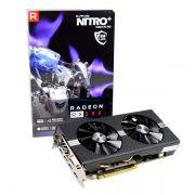 Placa de Vídeo Sapphire Radeon Nitro+ RX 580 8GB OC 256BIT GDDR5 DVI, HDMI, DP