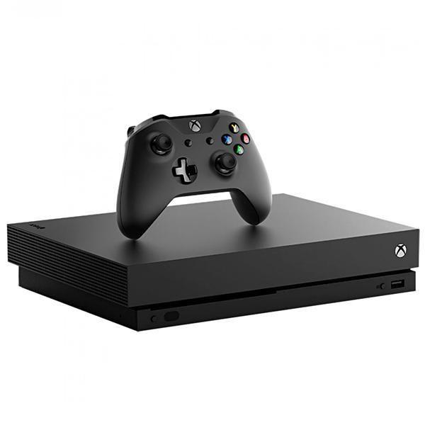 Console Xbox One X HDR 4K 1TB Preto
