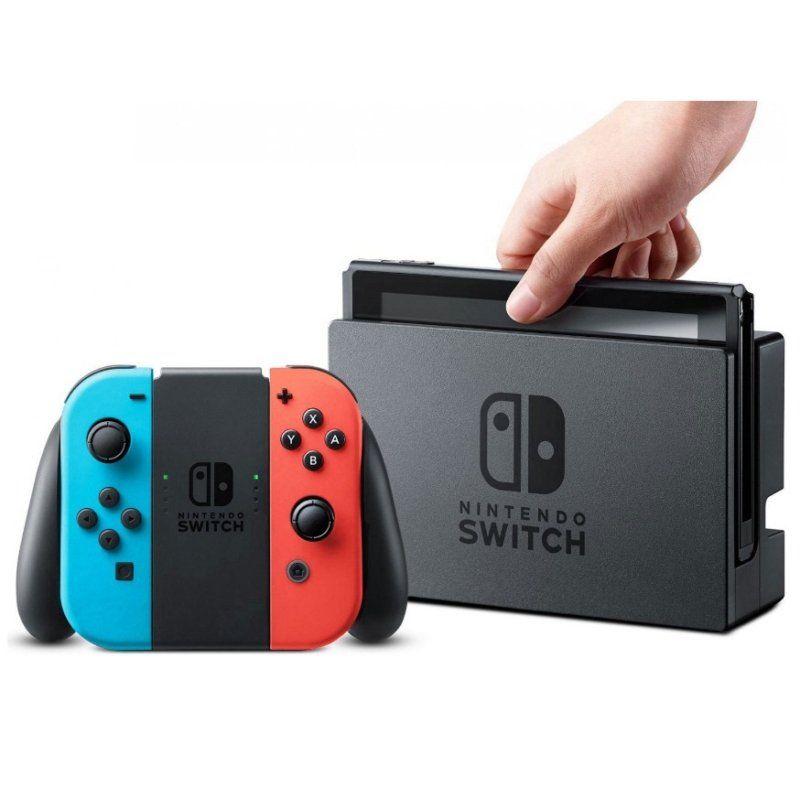 Console Nintendo Switch 32GB - Azul-Vermelho/Neon