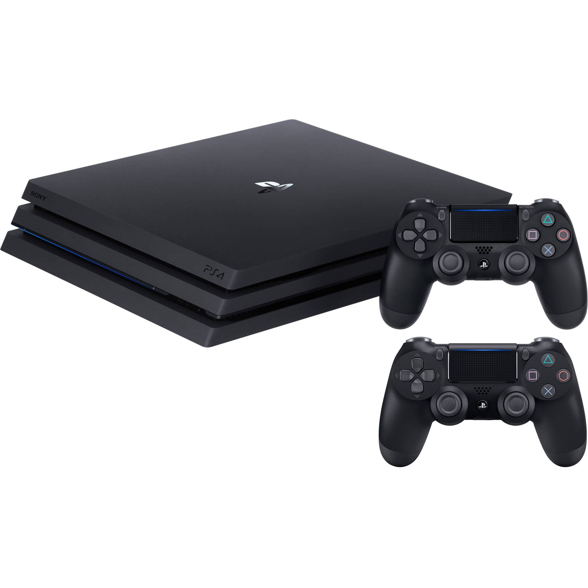 Console Sony Playstation 4 PRO 1TB 4K Com 2 Controles
