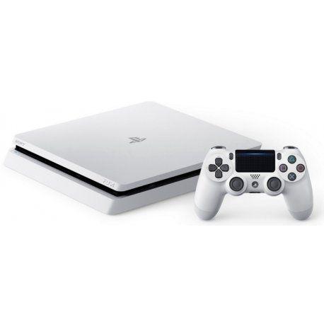 Console Playstation 4 Slim 500GB, Branco - Novo Caixa Branca