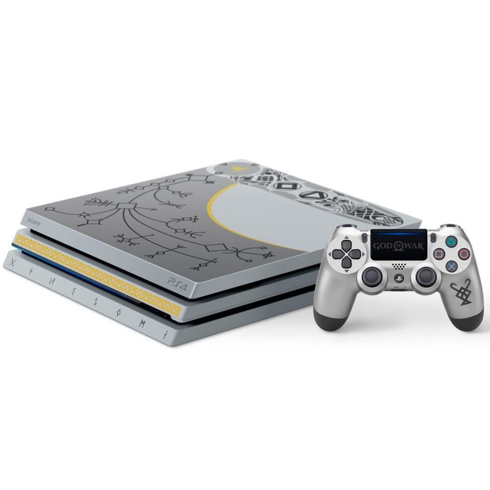 Console Sony PlayStation 4 Pro 1TB, 4K HDR , God of War, Edição Limitada