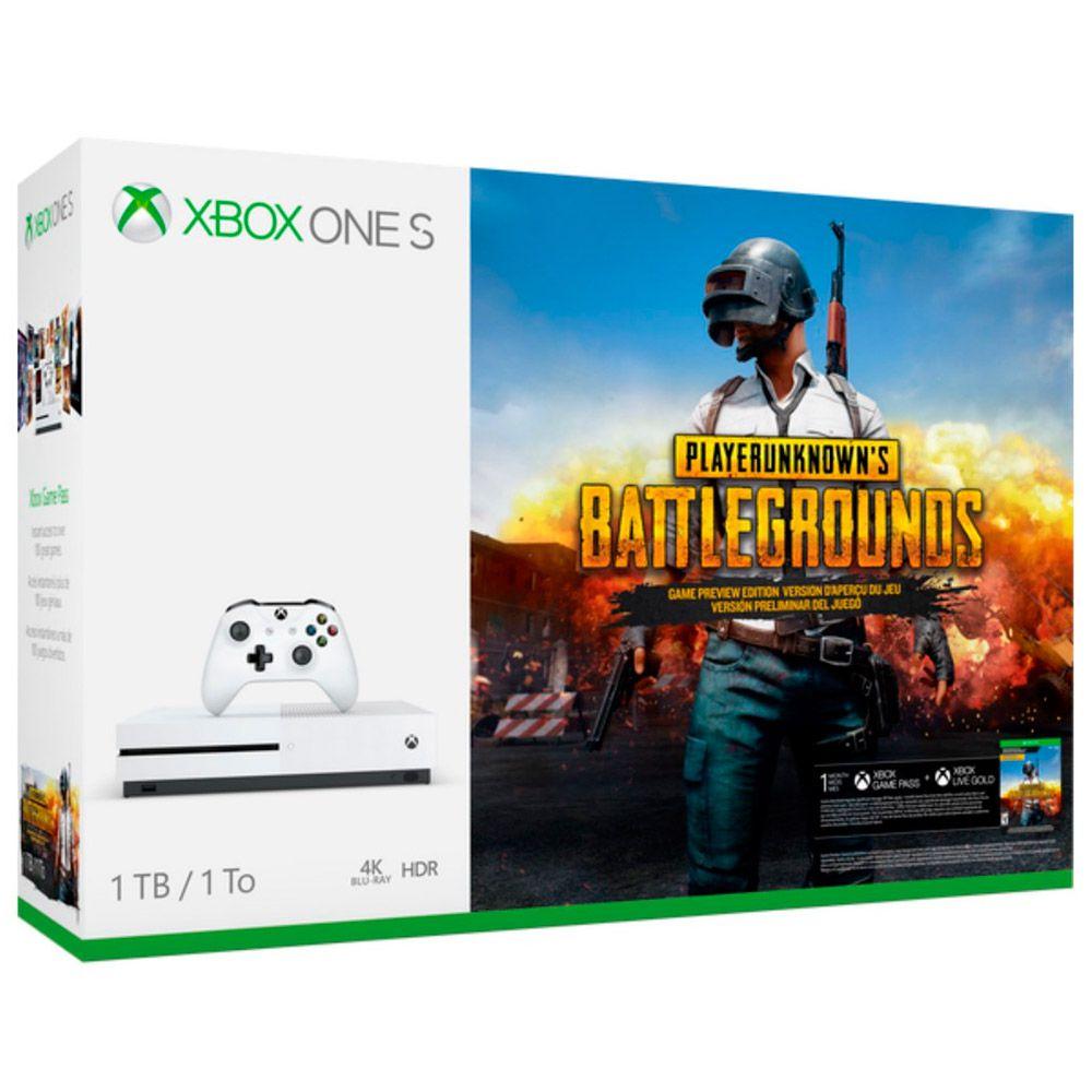 Console Microsoft Xbox one Slim 1TB Bundle BattleGrounds