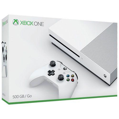 Console Microsoft Xbox One Slim 500GB Branco