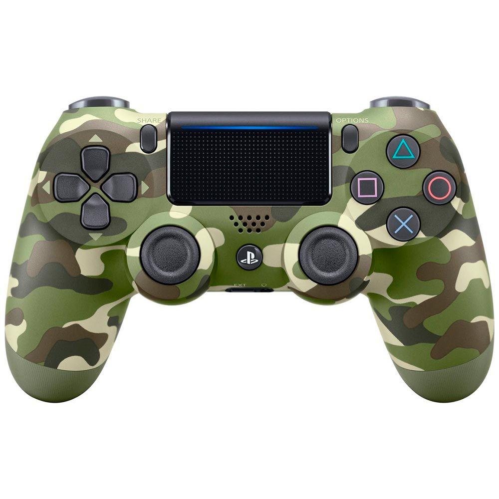 Controle Sony Dualshock 4 Camuflado Verde - PlayStation 4