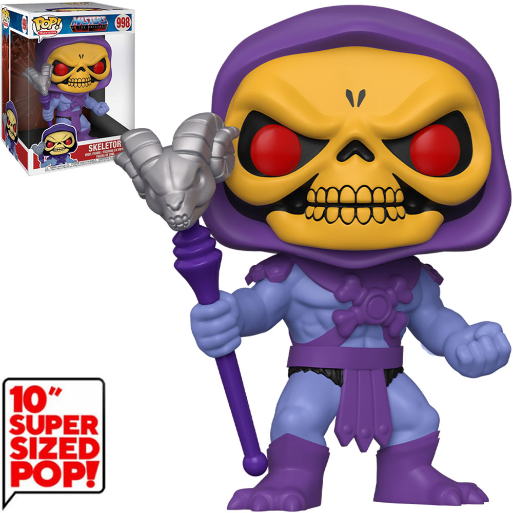 Funko POP Skeletor - Masters Of The Universe - 998 - SUPER SIZED 10