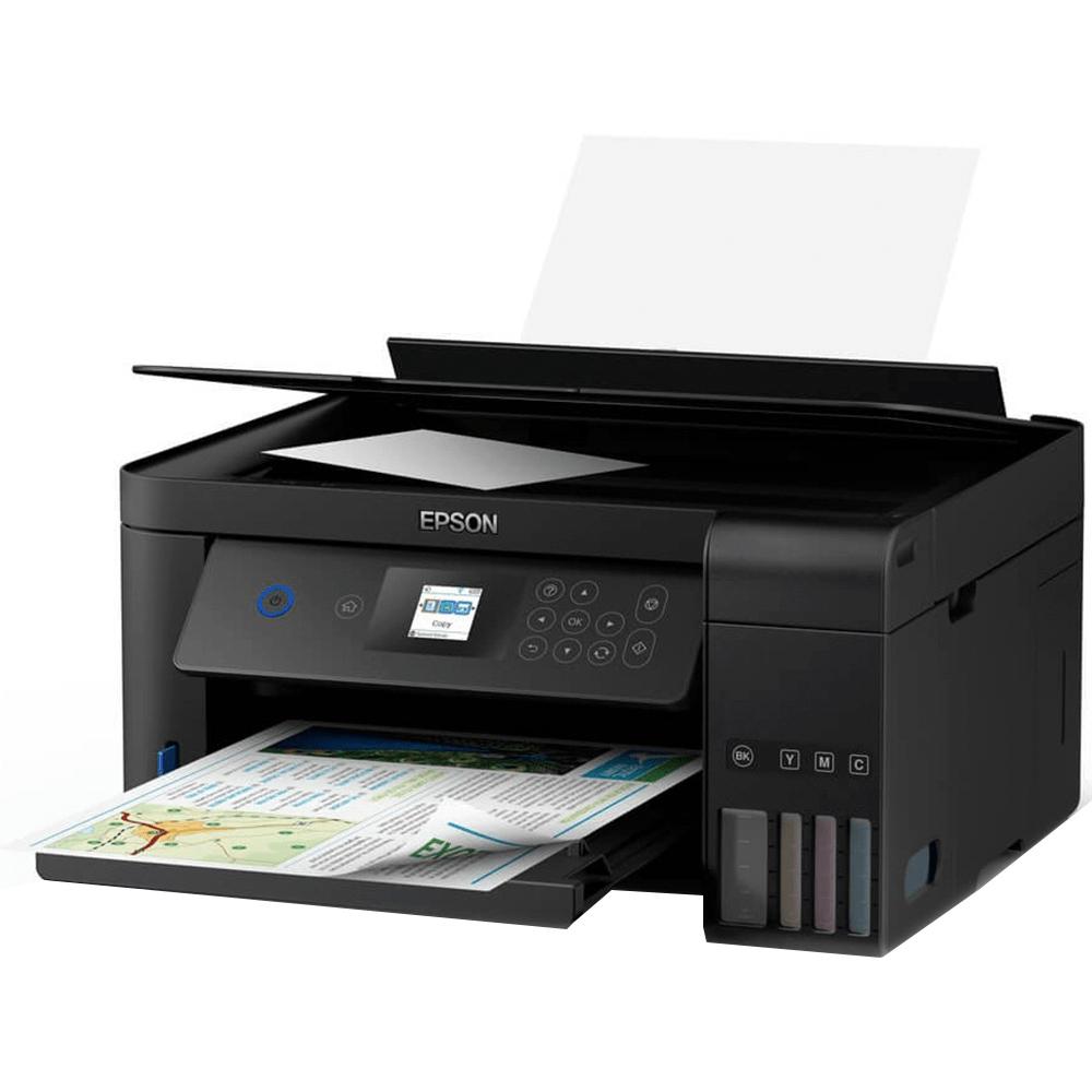 Impressora Multifuncional Epson EcoTank L4160, Jato de Tinta, Colorida, Wi-Fi, Bivolt