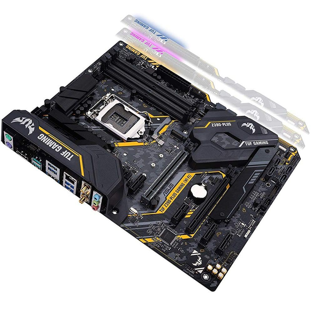 Placa Mãe Asus LGA 1151 TUF Z390-PLUS GAMING Wi-Fi
