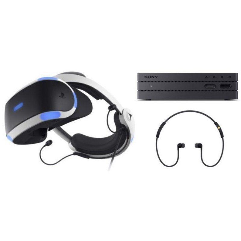 Kit Óculos Playstation VR PS4 + Jogo + Câmera + 2 movies - CUH-ZVR2