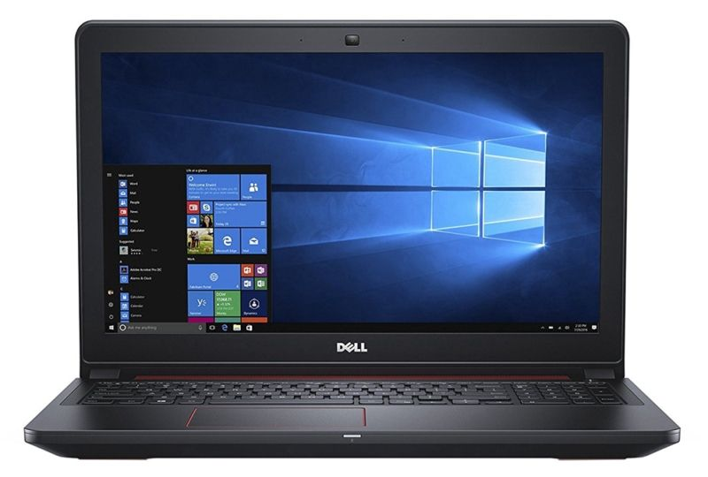 Notebook Gamer Dell i5577-5858BLK i5 2.5GHz - 8GB - 1TB - GeForce GTX1050 4GB