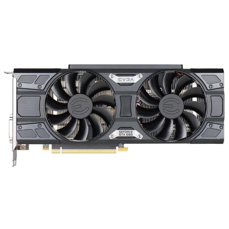 Placa de Vídeo EVGA GeForce GTX 1060 SSC 6GB, GDDR5, PCI-E, DP, DVI-D, HDMI