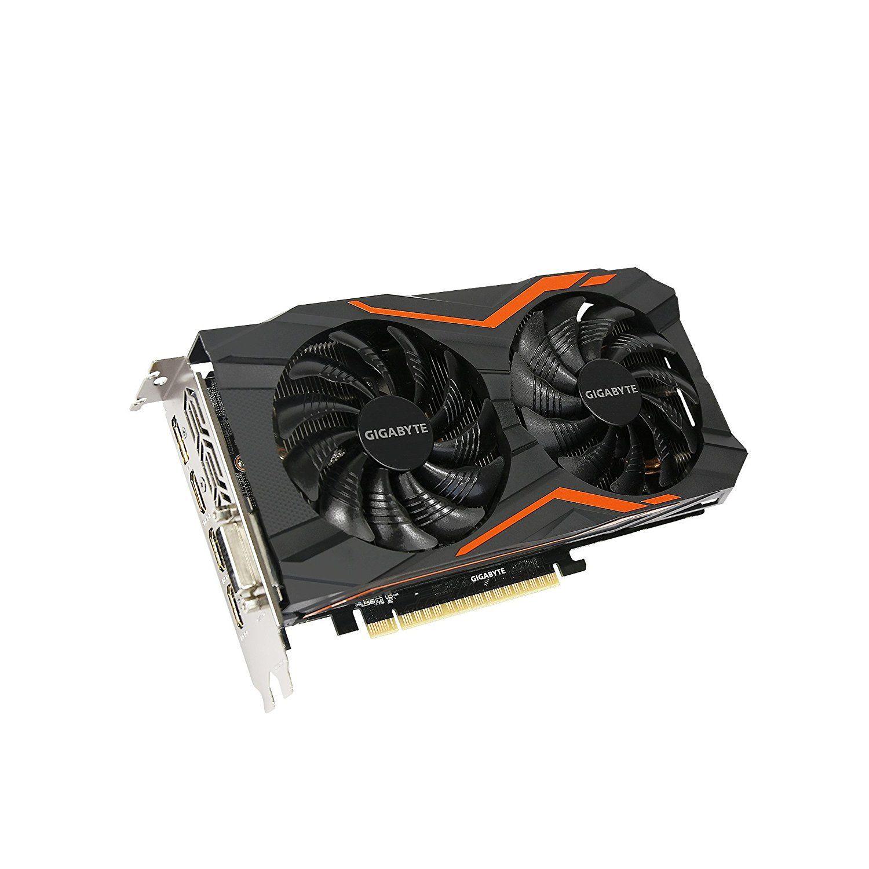 Placa de Vídeo Gigabyte GeForce GTX 1050 Ti 4GB G1 128BIT GDDR5, DVI, 3 HDMI, DP GV-N105TG1-GAMING
