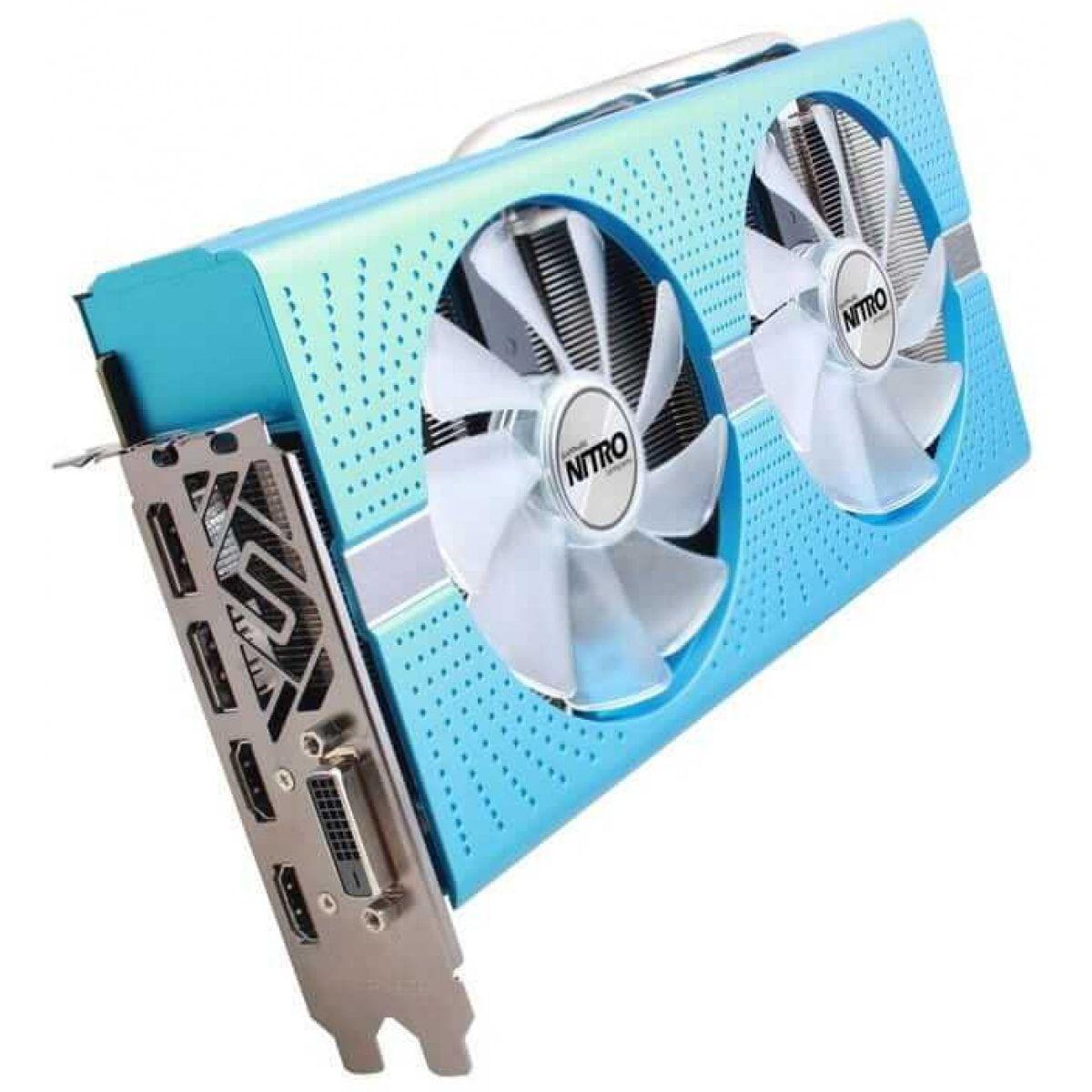 Placa de Vídeo Sapphire Radeon RX 580 NITRO+ 8GB 256BIT GDDR5 DVI, HDMI, DP
