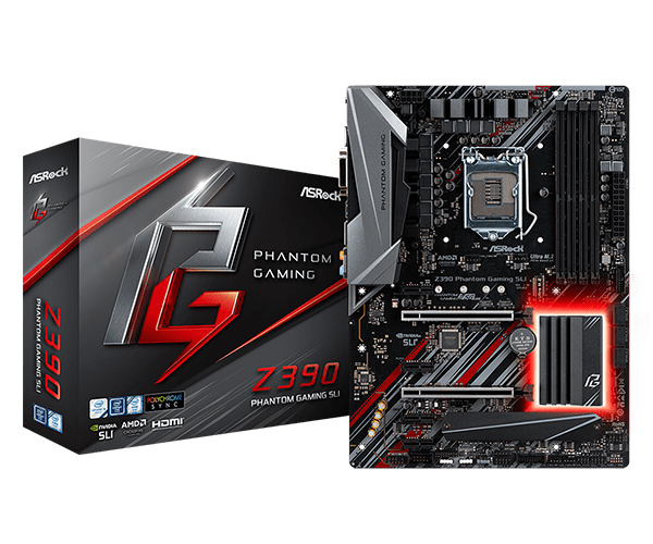 Placa-Mãe Asrock Z390 Phantom Gaming Sli LGA 1151