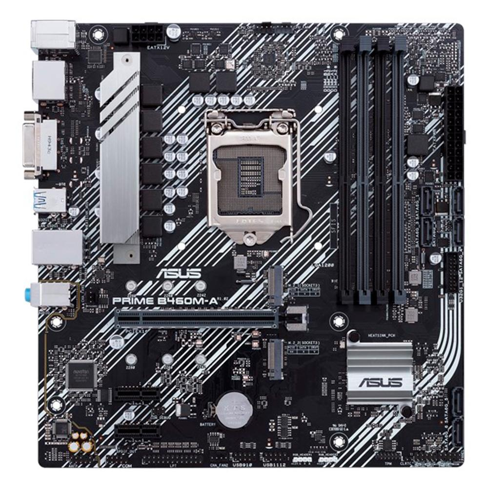 Placa Mãe Asus Prime B460M-A, LGA 1200, mATX, DDR4