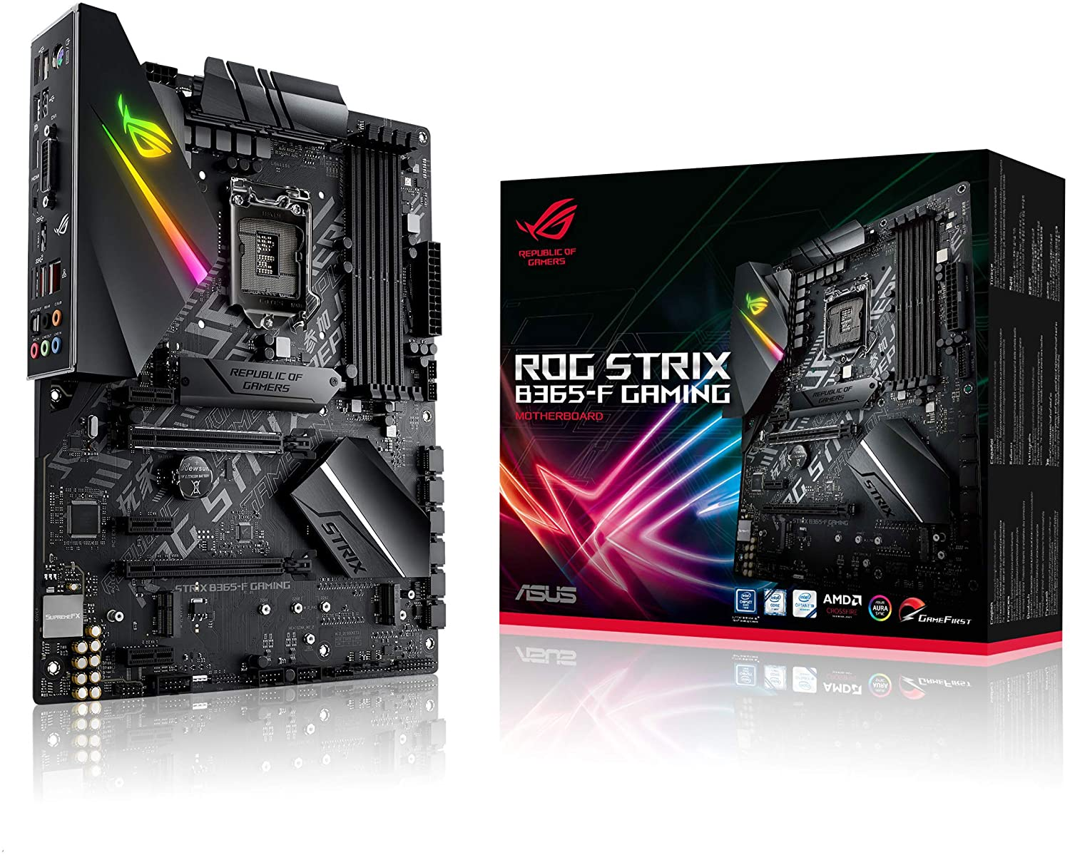 Placa Mãe  Asus ROG Strix B365-F Gaming, LGA 1151, ATX, Intel, DDR4
