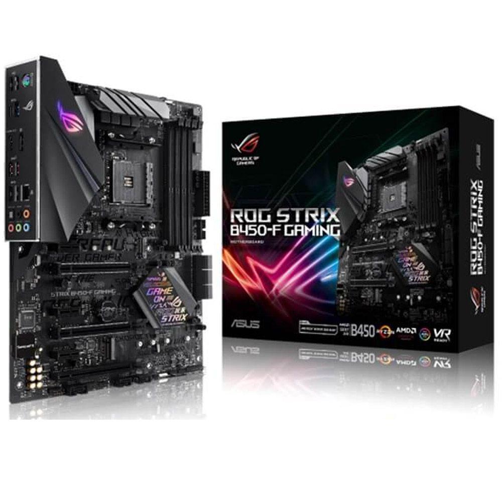 Placa-Mãe Asus ROG Strix B450-F Gaming, AMD AM4, DDR4