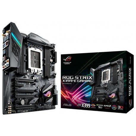 Placa Mãe Asus ROG STRIX X399-E Gaming TR4, 8x DDR4, 1x M.2, USB, SATA, BT, WiFi