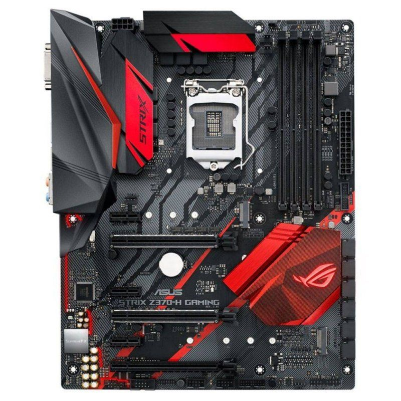 Placa Mãe Asus ROG STRIX Z370-H Gaming LGA 1151, 4x DDR4, 2x M.2, HDMI, DVI-D, SATA